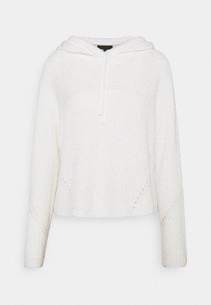 SUNNY HOODIE BLACK LABEL - Jumper - bright white