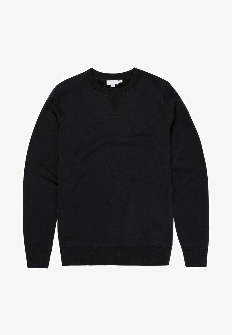 Sunspel - LOOPBACK - Sweatshirt - black