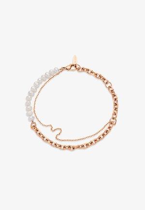 TREASURE DUO PEARL - Bracelet - roségold