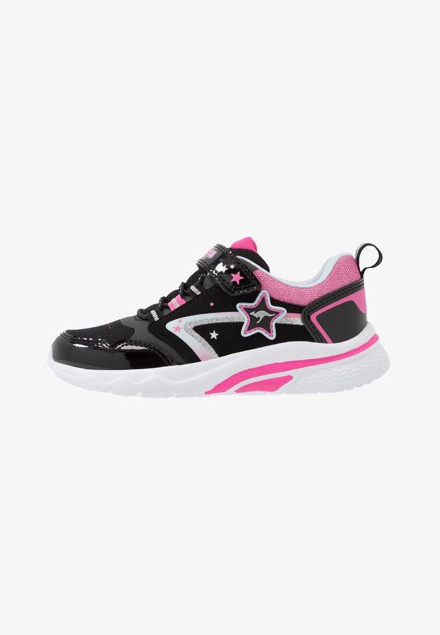 KK-DAISY II - Trainers - jet black/daisy pink