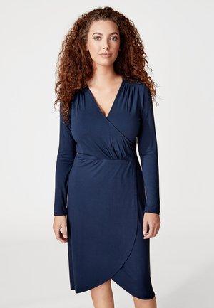 VIVI - Korte jurk - dark blue