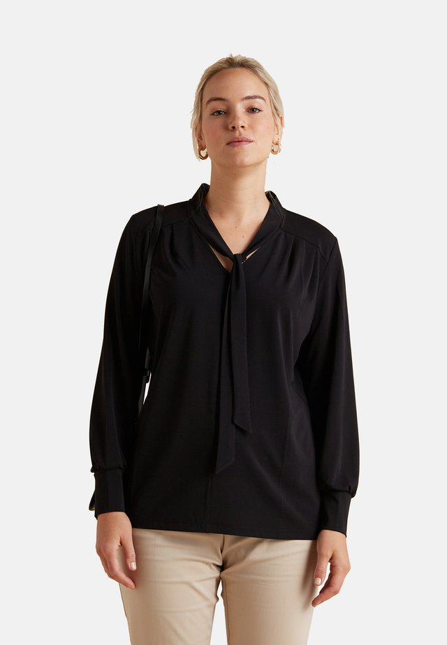 MAGLIETTA A MANICA LUNGA - Long sleeved top - nero