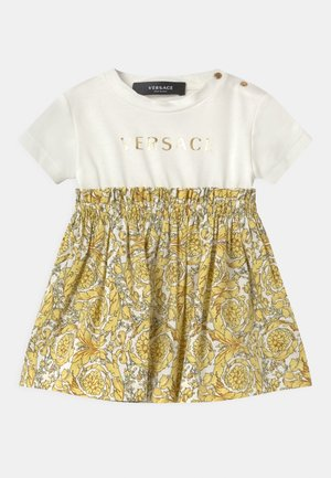 BAROQUE KIDS POPLIN SIGNATURE SET - Jerseyjurk - white/gold
