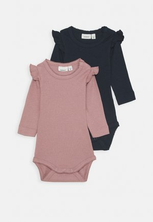 NBFKABEX BABY 2 PACK - Body - wood rose/dark sapphire