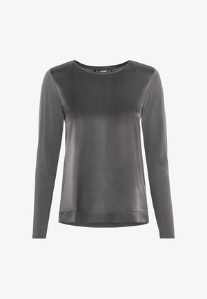 Long sleeved top - mittelgrau