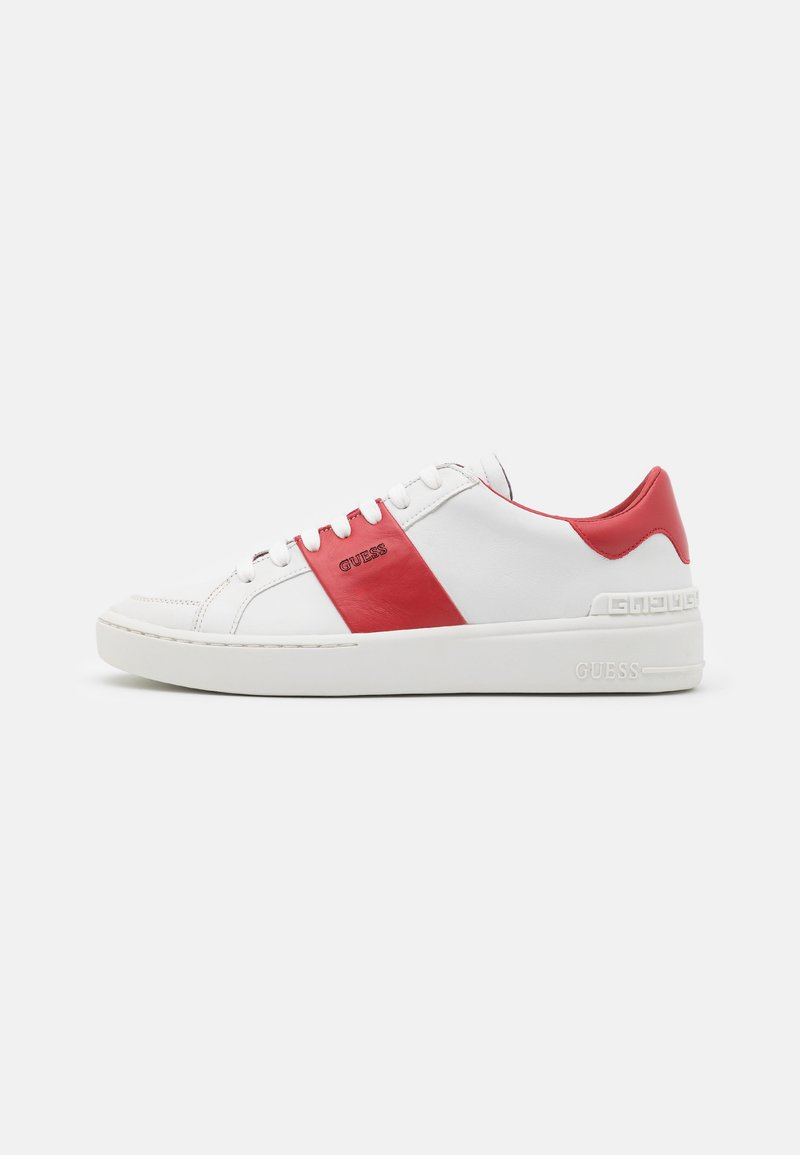 Guess - VERONA STRIPE  - Trainers - white/red