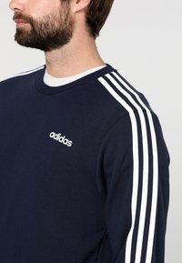adidas Performance - Essentials 3-Stripes Sweatshirt - Sweatshirt - legend ink/white - 5