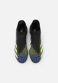 adidas Performance - PREDATOR FREAK .3  - Astro turf trainers - core black/footwear white/solar yellow - 3