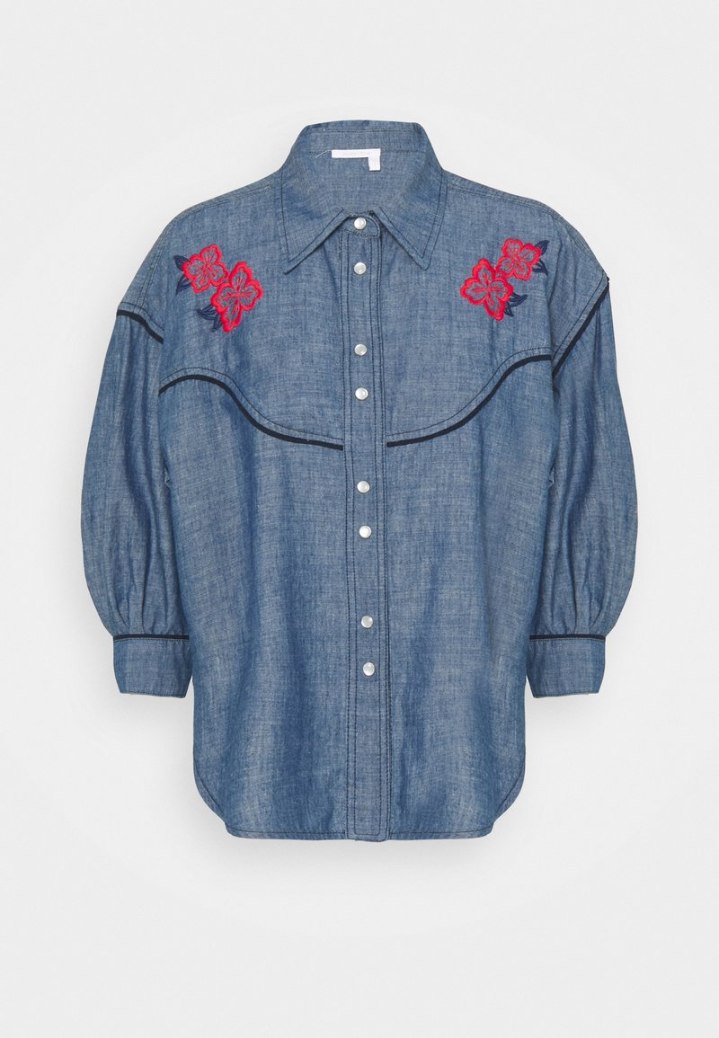 See by Chloé - Blouse - faded indigo