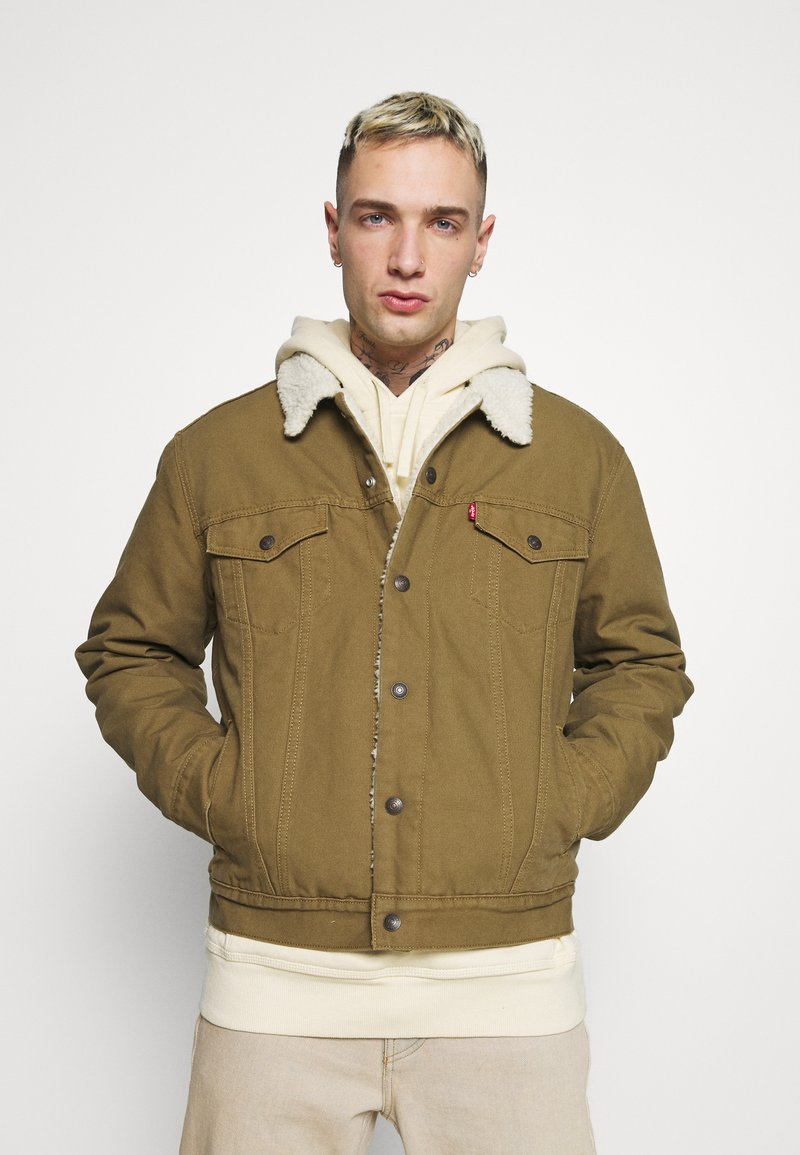Levi's® - TYPE 3 SHERPA TRUCKER - Light jacket - cougar