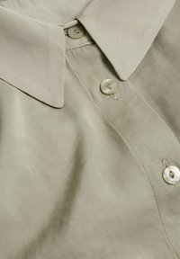 Mango - Button-down blouse - green - 6