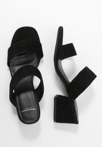 Vagabond - ELENA - Heeled mules - black - 3
