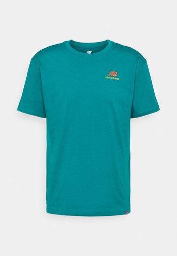 ESSENTIALS EMBROIDERED TEE - Basic T-shirt - team teal