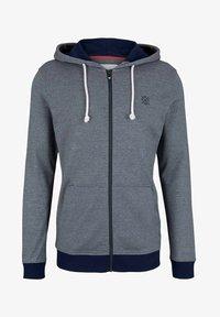 TOM TAILOR - Zip-up sweatshirt - offwhite navy stripe - 4