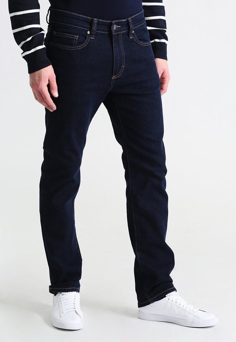 Men BASIC - Straight leg jeans - rinsed