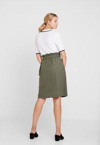 mint&berry - Áčková sukně - khaki - 2
