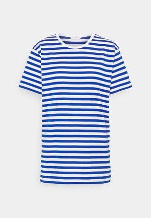 LYHYTHIHA - T-shirt imprimé - white/blue