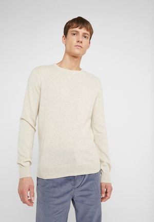 CONSINEE CREW - Jumper - heather natural