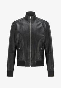 BOSS - NAFAN - Leather jacket - black - 5