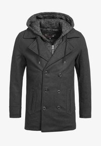 INDICODE JEANS - Short coat - anthracite - 5