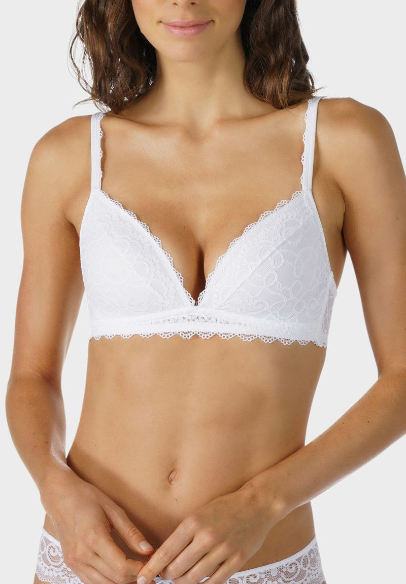 mey - SPACER BH SERIE AMOROUS - Triangle bra - white