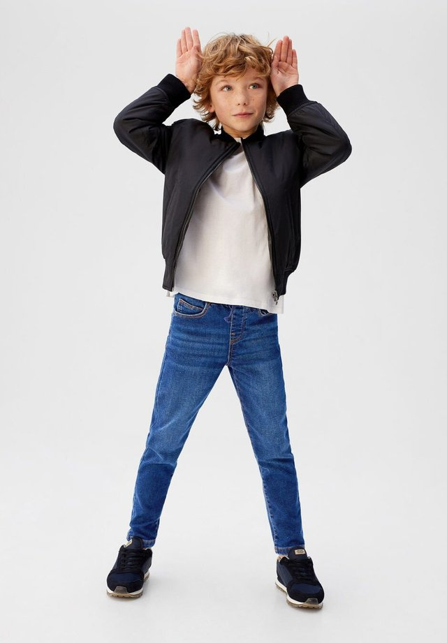 COMFY - Straight leg jeans - donkerblauw