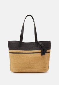 Anna Field - Tote bag - black/beige - 0