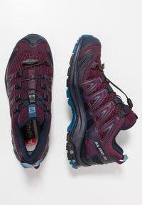 Salomon - XA PRO 3D - Trail running shoes - potent purple/navy blazer/bluestone - 1