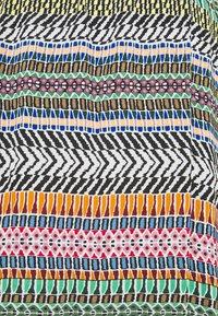 JDY - JDYSTAAR LIFE ABOVE CALF SKIRT - A-line skirt - cloud dancer/aztec multicolor - 2