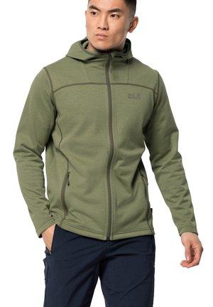 HORIZON - Training jacket - light moss