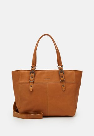 BEATY - Handbag - light camel