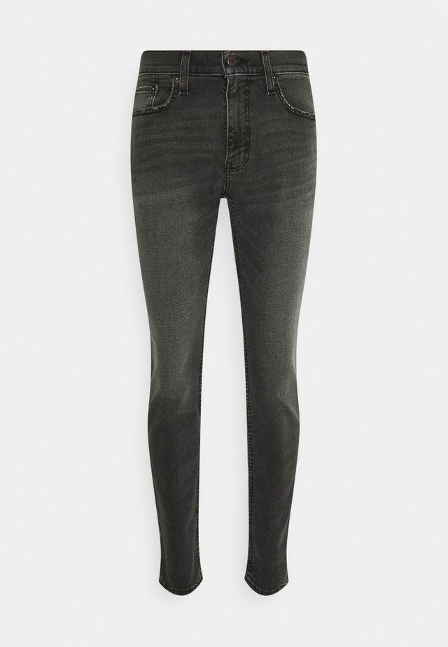 SUPER - Skinny džíny - washed black