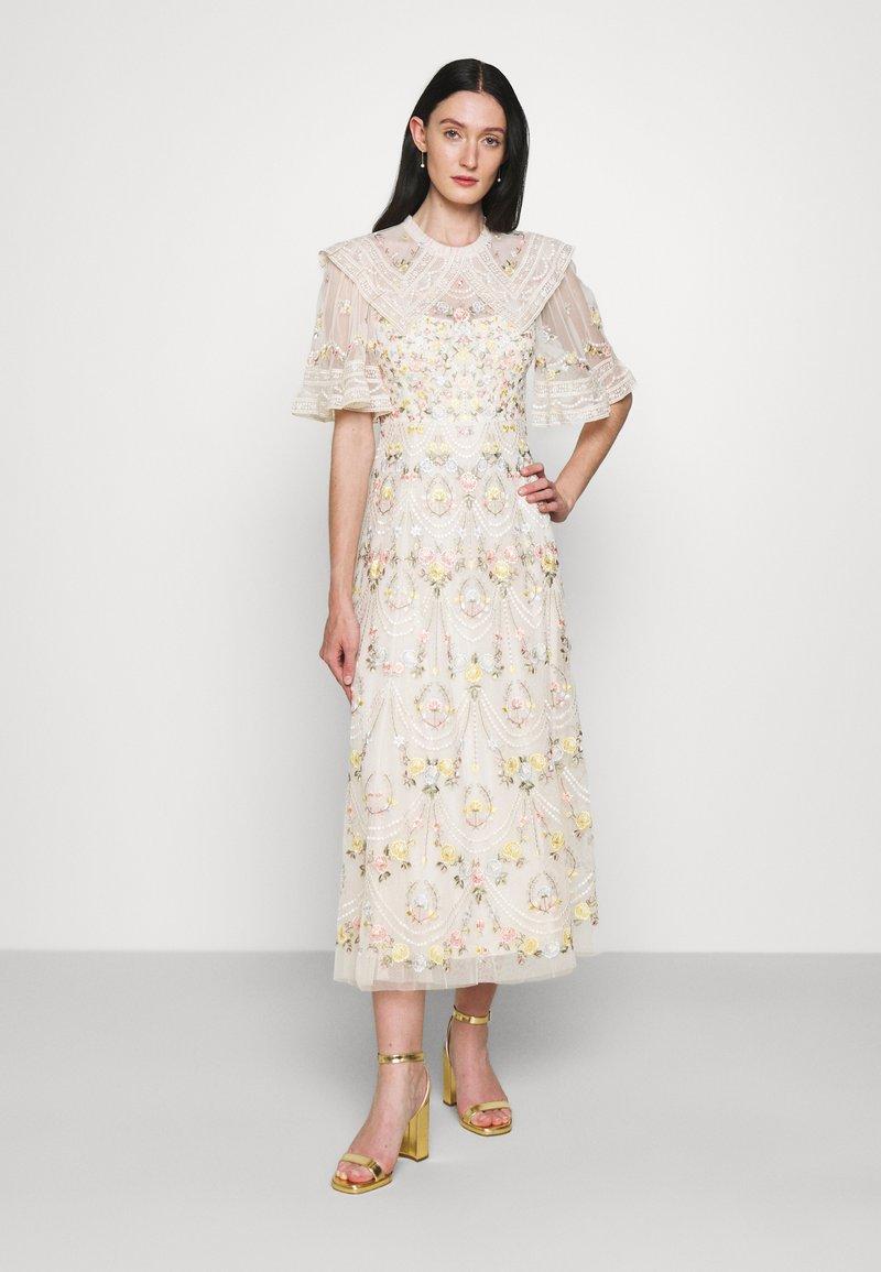 Needle & Thread - REVERIE ROSE BALLERINA DRESS - Společenské šaty - champagne
