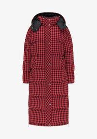myMo ROCKS - Winter coat - rot schwarz - 4