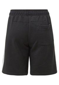 adidas Performance - MUST HAVES 3-STRIPES SHORTS - Sports shorts - black - 1