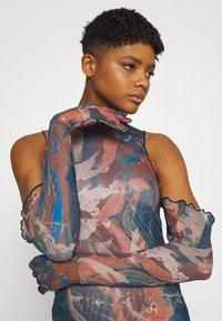 Jaded London - RUCHED SHIRT DRESS FAIRY STATUE PRINT - Tubino - multi - 3