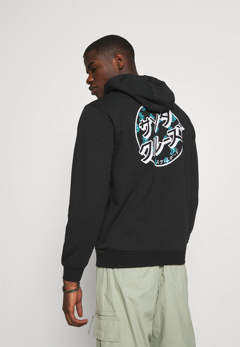 Santa Cruz - OFF HANDO DOT HOOD UNISEX  - Sweatshirt - black
