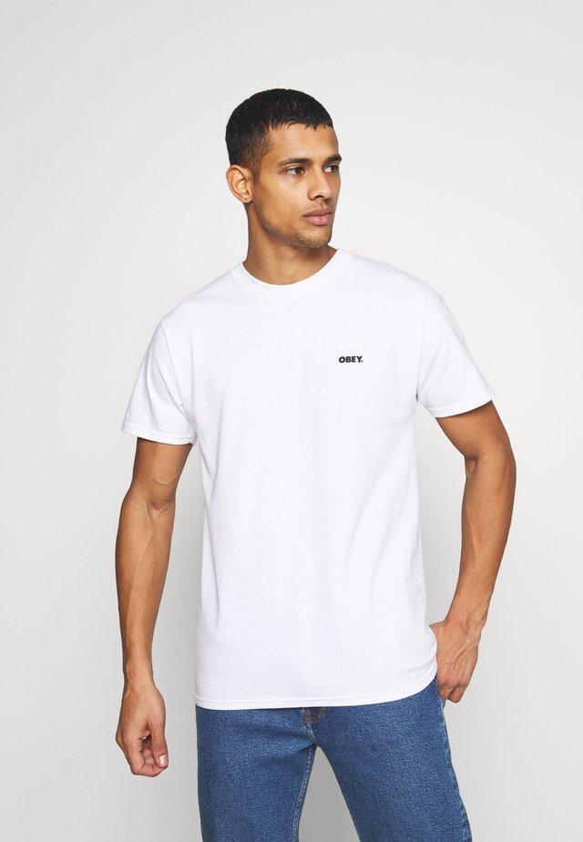 PEACE - T-shirt basique - white