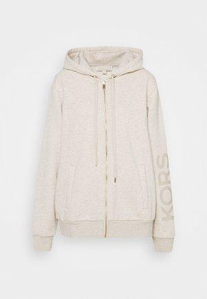 ZIP UP - Zip-up sweatshirt - dune heather