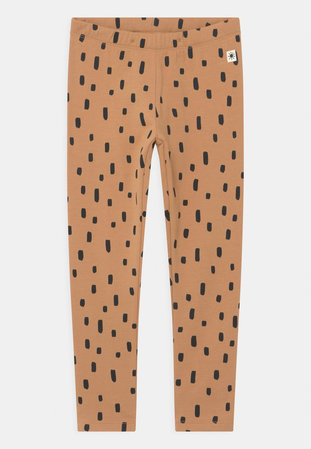 MINI DOTS UNISEX - Leggings - Hosen - dark beige
