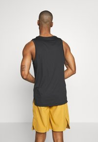 Nike Performance - TANK DRY - T-shirt sportiva - black/white - 2