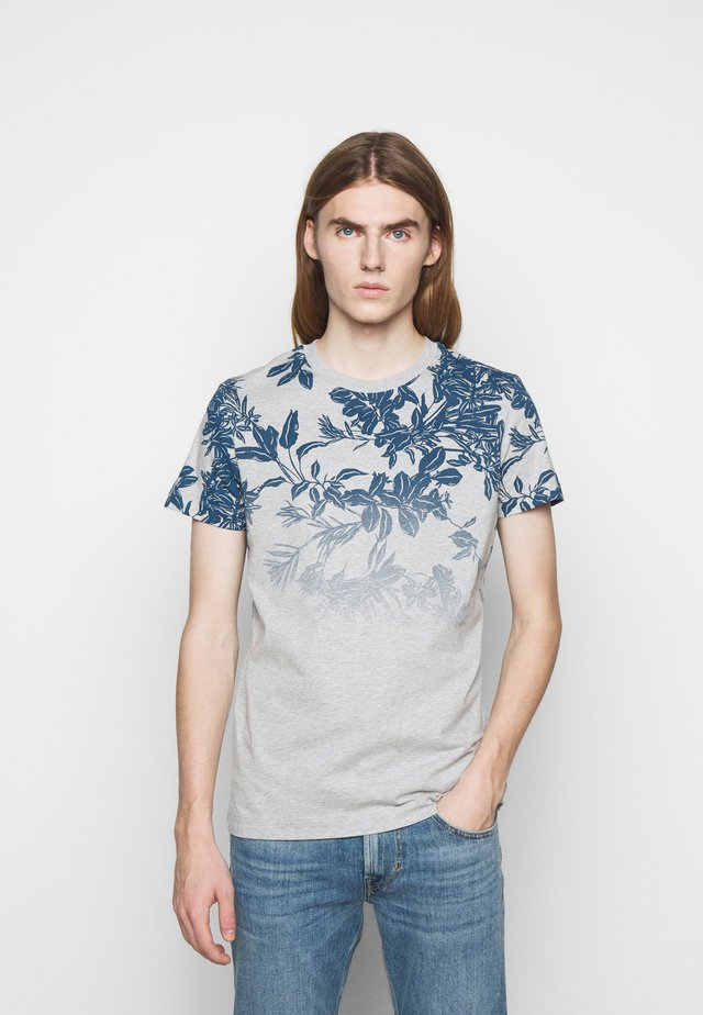 ALARON - T-Shirt print - medium blue