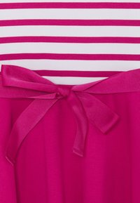 Polo Ralph Lauren - STRIPE SOLID DRESSES - Žerzejové šaty - college pink/white - 2