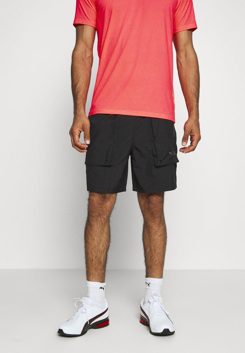 Puma - FIRST MILE SHORT - Sports shorts - black