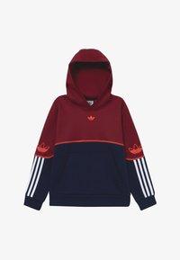 adidas Originals - OUTLINE HOODIE - Mikina skapucí - dark red - 2