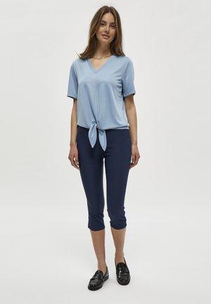 ROMI CAPRI - Trousers - dress blue