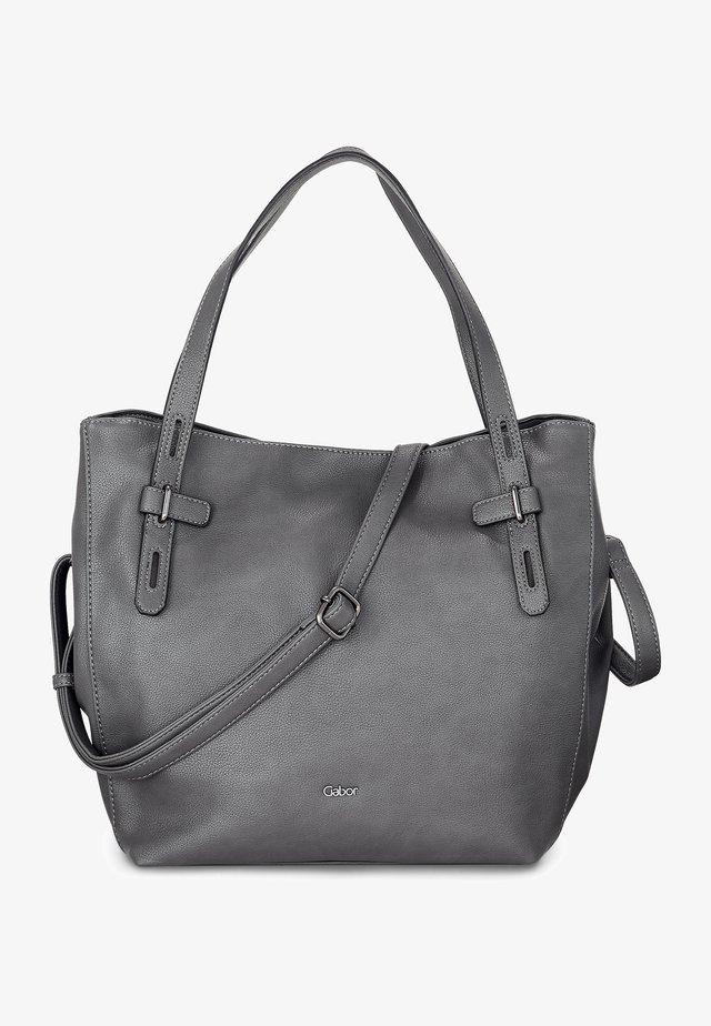 ELLA - Tote bag - mittelgrau