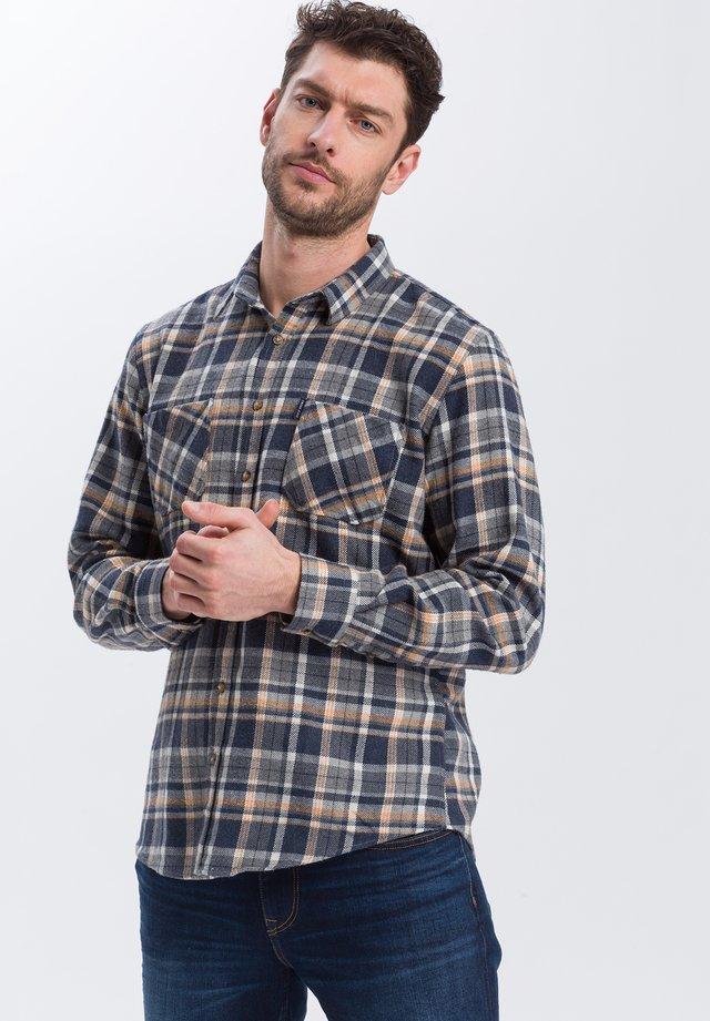 Shirt - dunkelgelb