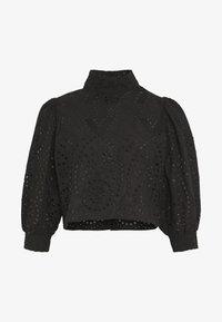 STEPHANIE BLOUSE - Button-down blouse - black