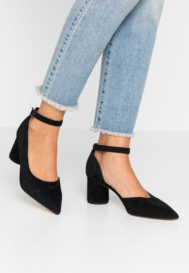 Anna Field Select - LEATHER CLASSIC HEELS - Classic heels - black